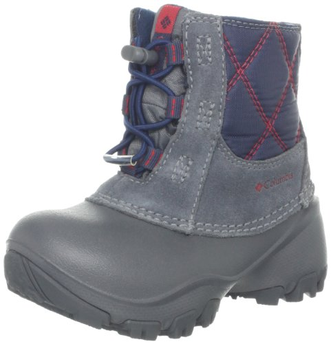Hot Sale Columbia Rope Tow II Waterproof Winter Boot (Toddler/Little Kid/Big Kid),Charcoal/Bright Red,2 M US Little Kid