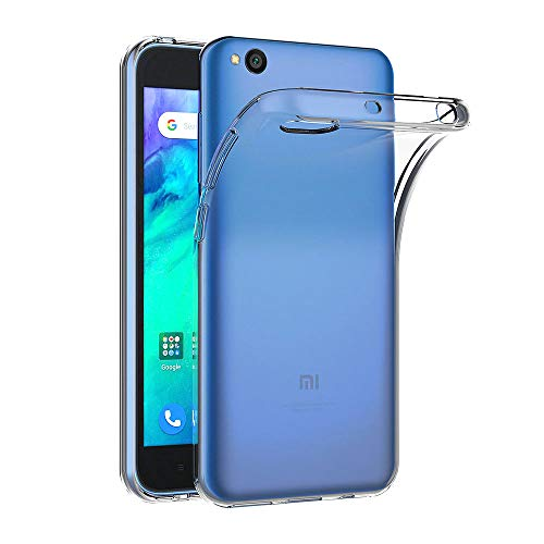 AICEK Cover Xiaomi Redmi Go, Cover Redmi Go Silicone Case Molle di TPU Trasparente Sottile Custodia per Xiaomi Redmi Go (5.0 Pollici)