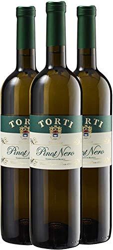 Pinot Nero Vinified en White DOC OP - Cuerpo de un Pinot Nero Red en un Vino Blanco - Finca ganadora del Premio Torti Wine caso de 3