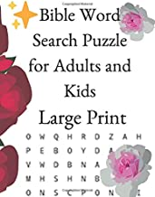 Bible Word Search Puzzle for Adults and Kids Large Print: Meaningful words based on Christian Commentary into a word search from the bible. Based on ... word find. Great Word find Puzzles.