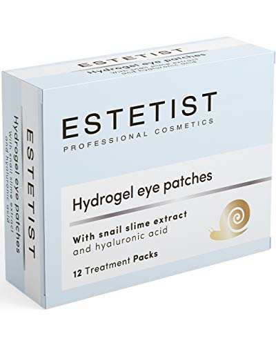 Under Eye Patches Eye Mask for Puffy Eyes, Dark Circles and Under Eye Bags Treatment With Hyaluronic Acid and Snail Slime Extract