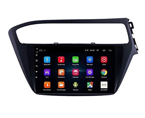 Autoform Hyundai i20 Elite (2018-2020) 9 Inch Touchscreen Android Car Stereo 2GB RAM 16GB Internal Memory with Inbuilt GPS Navigation WiFi Mirrorlink Bluetooth USB Google Playstore YouTube