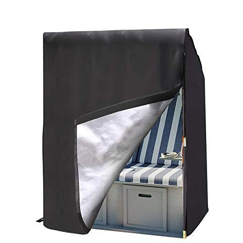 Housse de Balancelle de Jardin Bâche de Balancelle Imperméable en Oxford 420D Anti-UV Couverture de Protection Balançoire,135 * 105 * 175cm