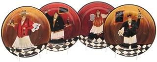 Certified International Bistro 9-Inch Soup/Pasta Bowl, Set of 4 by Certified International