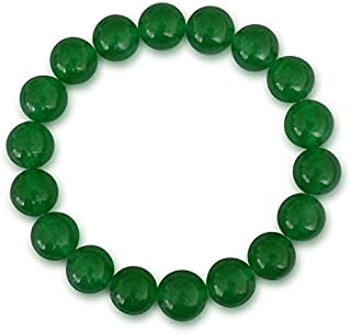 Zoya Gems & Jewellery Jade bracelet, Malaysia jade, natural, green, round, 8mm