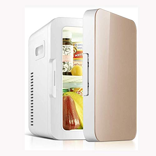 NXYJD Mini Nevera Coche pequeño refrigerador compartida hogar del Coche de Doble Uso refrigerador termoeléctrico más cálido (Color : B)