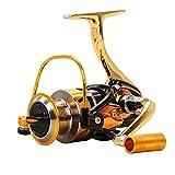 KUSHANsports Spinning Fishing Reel Full Metal Without Gap 13-axis Fishing Wheel, Fishing Tool Accessories