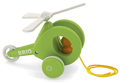 Brio - 30195 - Jeu éducatif premier âge - Hélicoptère à tirer