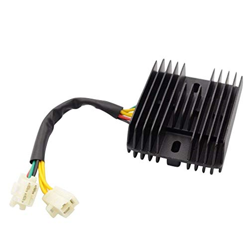 GOOFIT Voltage Regulator Rectifier Replacement for 250cc 260cc Honda Helix CN250 VOG Jonway