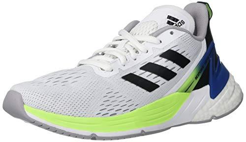 adidas Response Super Running Shoe, White/Black/Glory Grey, 5 US Unisex Big Kid
