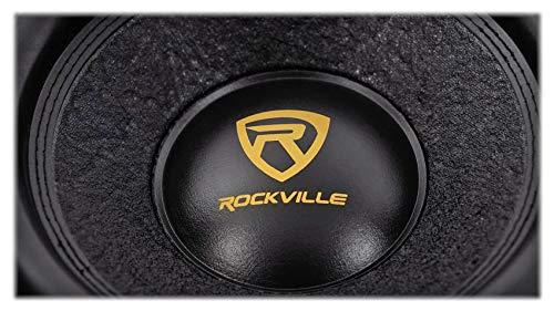 """Rockville W12K9D2 12"""" 4000w Car Audio Subwoofer Dual 2-Ohm Sub CEA Compliant"""
