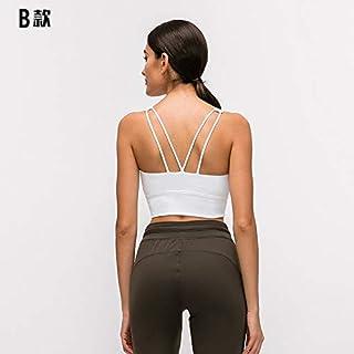 Nobrand Sports Bra S Wirelesstraps Removable Soft Feel Plus Thick Straps Sports Bra Yoga Sports Sportswear Women's Workout...
