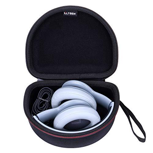 LTGEM Case for JBL E55BT, E45BT, Everest 700/300 Wireless Bluetooth Around-Ear Headphones - Black