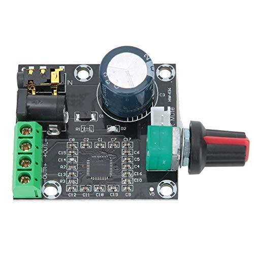 Placa amplificadora de audio de doble canal de 15 W + 15 W PAM8610 DC 12V Clase D Circuito de placa de amplificación de potencia para altavoz de sistema de sonido