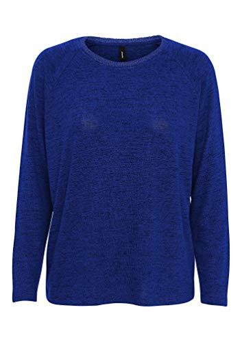 SOYACONCEPT - Damen Pullover, SC-Biara 15 (23610-30), Größe:M, Farbe:Royale