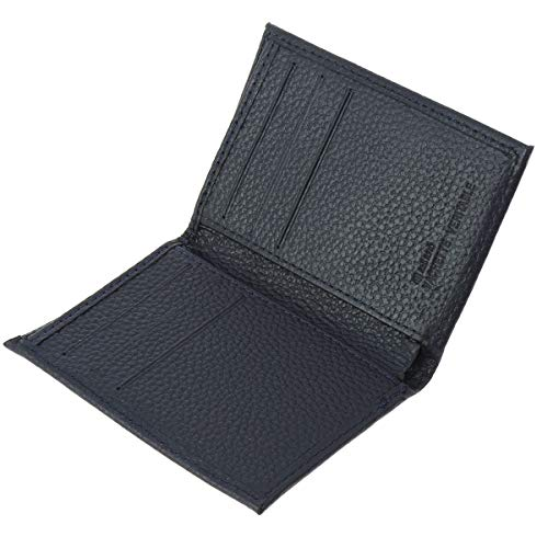 FASHIONGEN - Porte cartes en cuir SAWSAN - Bleu marine, Bleu Marine, Taille unique