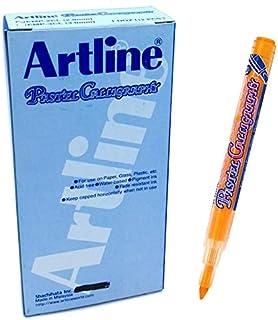 Artline EMP-3CL Pastel calilgrapy Pen 3.0mm Orange (PACK OF 12 PCS)