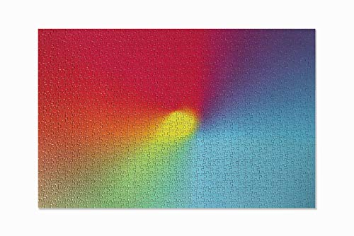 Rainbow Gradient Puzzle by Quality Content- 1000 Piece Puzzles for Adults, Jigsaw Puzzles 1000 Pieces for Adults, jigsaw puzzle board for Adults and Children 1000 Pieces