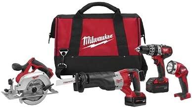 Milwaukee GIDDS2-288995 M18 18-Volt 4-Tool Cordless Combo Kit