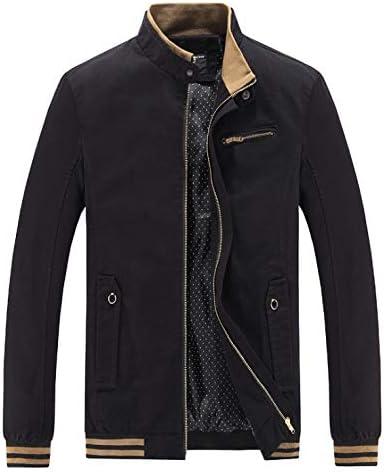 ACAO Men's 2021 Windbreaker Jacket Plus Size Cotton Pure Popular popular Washed