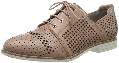 Tamaris 1-1-23212-24, Zapatos de Cordones Derby Mujer, Rosa 521, 36 EU