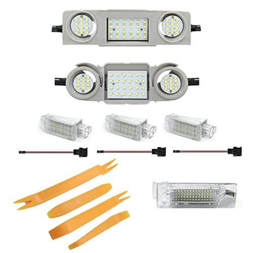 LED Innenraumbeleuchtung Set Module inkl. Werkzeugset (1Vo_1Hi_1HF_2Ko_2Fu)
