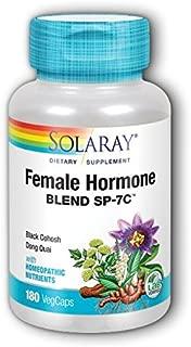 Female Hormone Blend SP-7C Solaray 180 VegCaps