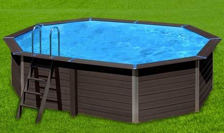 Flight-Pool -   Freistehender Pool,