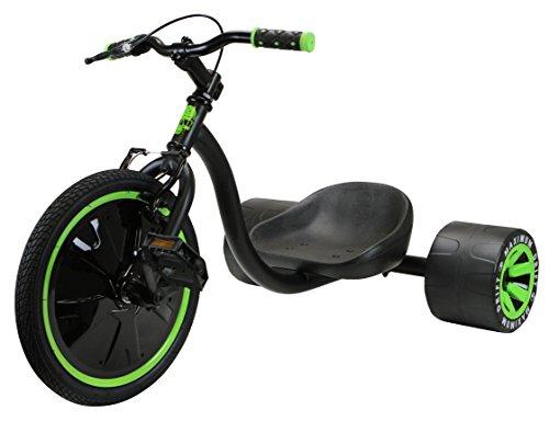 MADD Kinder Drift Trike 16 Zoll, grün/Schwarz, One Size