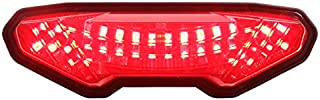 Integrated Sequential LED Tail Lights Smoke Lens for 2014-2016 Yamaha FZ-09 15-17 FJ-09 19+ Tracer 900