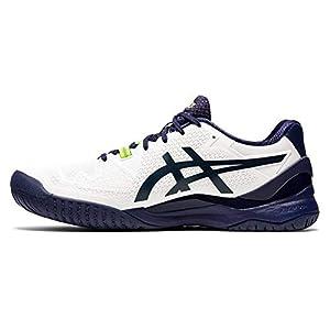 ASICS Men's Gel-Resolution 8 (2E) Tennis Shoes, 14W, White/Peacoat