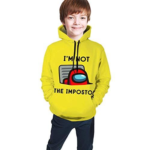 Kapuzenpullover, Jugend Kinder Hoodie Sweatshirt Langarm Kapuze unter Uns Casual Hoody Pullover für Teen Boys Girls
