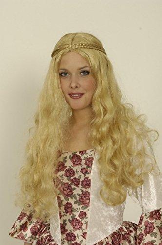 Generique - Perruque Longue tressée médiévale Femme