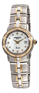 Raymond Weil Women's 9440-STS-97081 Parsifal Two-Tone Mother-Of-Pearl Diamond Dial Watch image