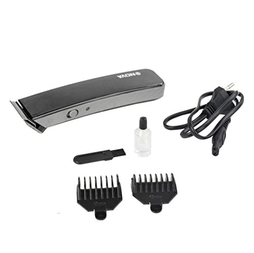 Kabelloser Haar und Bartschneidemaschine,Elektrische Friseur Set Haarschneidemaschine Wiederaufladbare Haarschneider Set für den Salon oder privaten Gebrauch von Elehot (Schwarz)