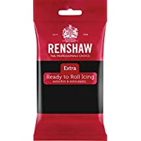 Renshaw- Fondant (Pasta de Azúcar) - Color Negro - 250 gr
