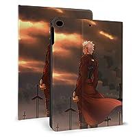 Fate/Stay Night Ipad Mini 5 ケース (2019モデル) / Ipad Mini 4 ケース アベンジャーズ マーベル 収納可能 スタンド機能 軽量 薄型 Tpu 耐衝撃 レザースマートカバー オートスリープ/スリープ解除機能 手帳型 ケース