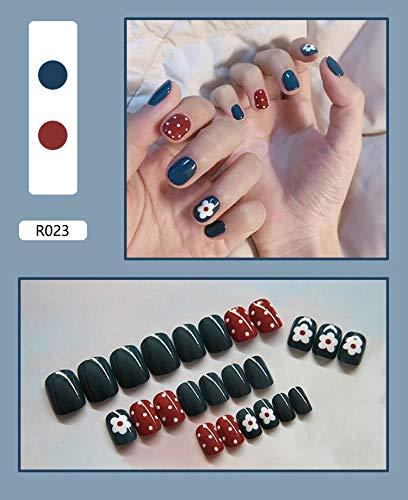 Puntas Uñas Puntas de uñas postizas Herramientas de decoración de arte Kit...