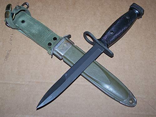 M7 Bayonet Knife/US Scabbard, Vietnam Era