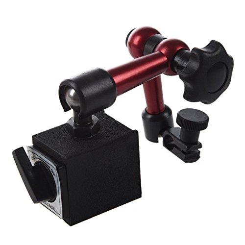 Magnetfuss Stand - SODIAL(R)Einstellbares Magnetmessstativ Unterseiten Halter Digitaler Fuellstand Messuhr