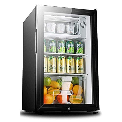 kylskåp med glasdörr elgiganten