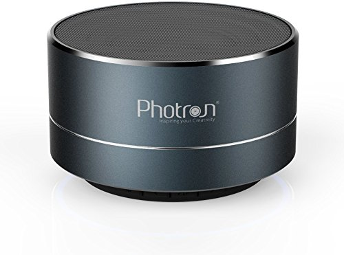 Photron P10 Wireless 3W Super Bass Mini Metal Aluminium Alloy Portable Bluetooth Speaker with Mic...