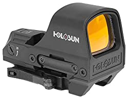 cheap Holosun HS510C 2 MOA Point or 65 MOA Ring Open Reflective Circle Point Solar Energy Holographic Red Point…
