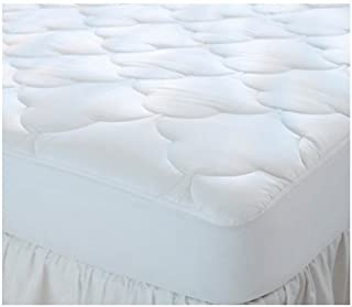 Gilbin Quilted Cot Size Waterproof Cotton Top Mattress Pad,Mattress Cover Protector for Camping, RV, Campers 30