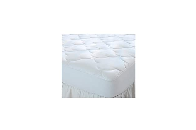 Amazon.com: Quilted Cot Size Cotton Top Camp Mattress Pad, 30