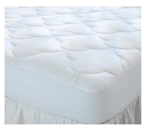 "Gilbin Quilted Cot Size Waterproof Cotton Top Mattress Pad,Mattress Cover Protector for Camping, RV, Campers 30"" X 74"" X 10"""
