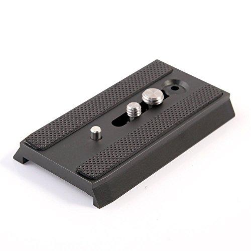 FidgetFidget 501PL Placa QR Deslizante de liberación rápida para Manfrotto 501 503 701 HDV MH055 M0-Q5