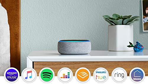 Echo Dot (3ª generazione) - Altoparlante intelligente con integrazione Alexa - Tessuto...