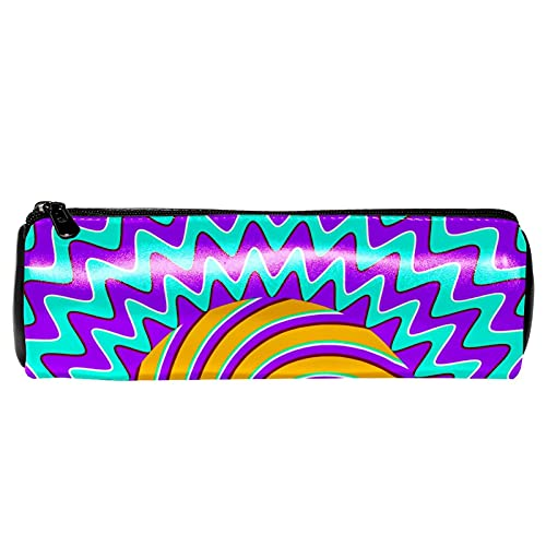 Estuche psicodélico de ojos abstractos hippie, bolsa de papelería, bolsa de almacenamiento, organizador de cosméticos para la escuela, adolescentes, niñas, niños, hombres y mujeres