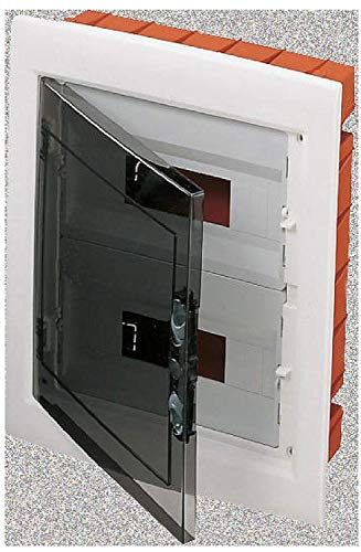 Gewiss - Gw40606 scatola elettrica - quadro elettrico (arancione, trasparente, bianco, 330 millimetri, 420 mm, 85 mm)